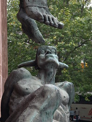 Lucifer by Jacob Epstein, Coventry Cathedral