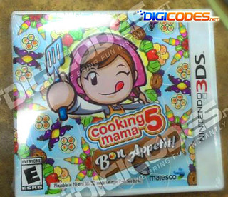 JUAL : 3Ds Cooking Mama 5: Bon Appetit! , Theatrhythm Final Fantasy : Curtain Call