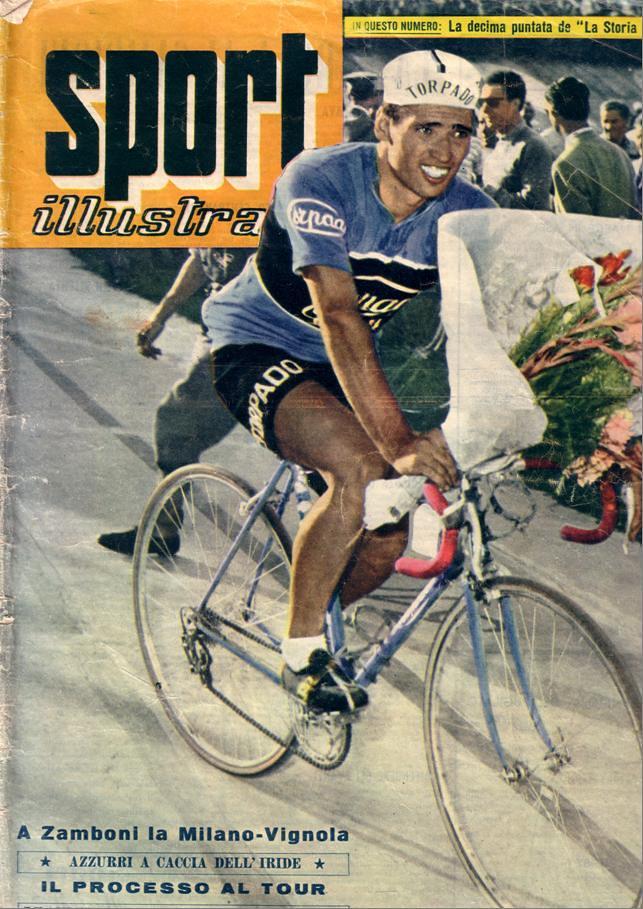 Copertina Sport Illustrato luglio 1959