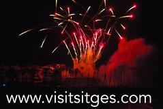 Santa Tecla sitges Fuegos artificiales