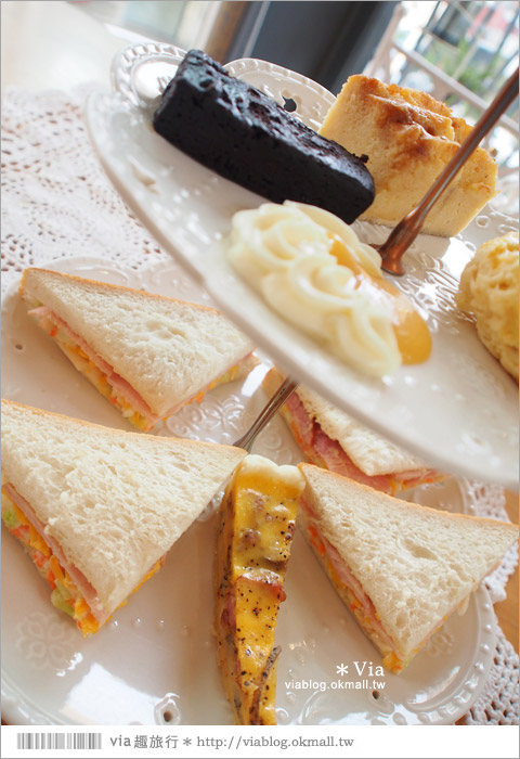 【台中下午茶推薦】甜點森林|Wilson's English Afternoon Tea英式下午茶~好味推薦!45