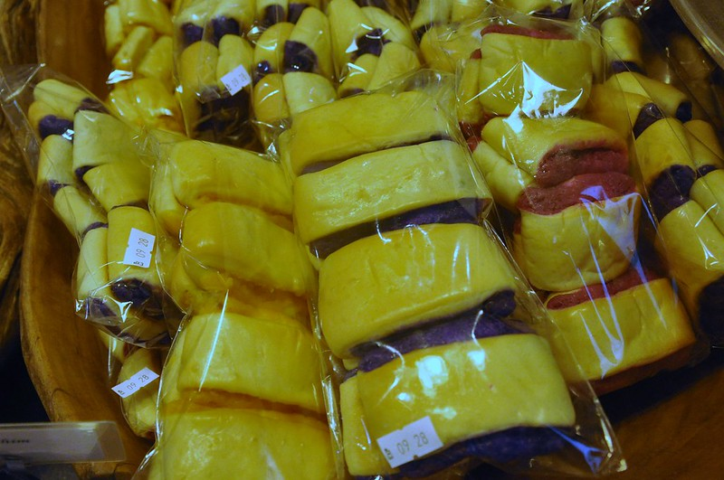 Pan de Pinya, Pan de Ube at Pan de Regla