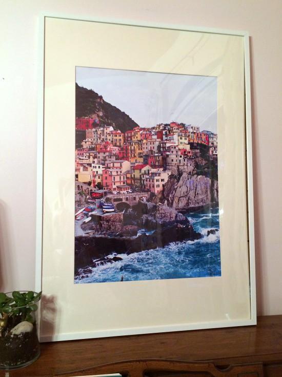 Hi Sugarplum | Oversize Framed Art with Custom Mat