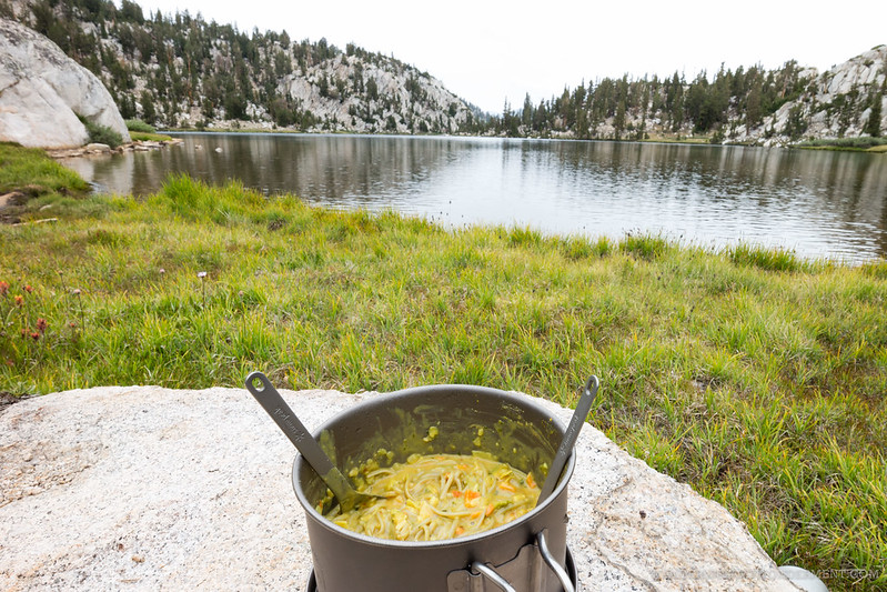 Lunch at Lake of the Lone Indian