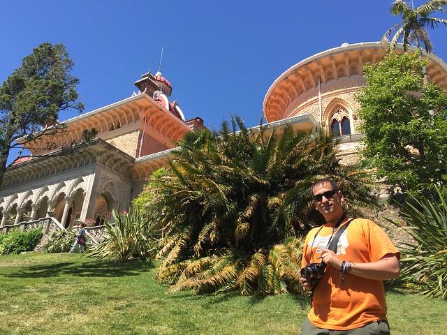 Sele en el Palacio de Monserrate (Sintra, Portugal)