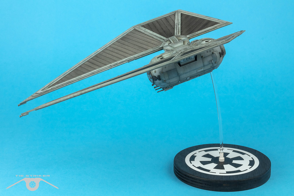 TIE Striker wip | Base Build log: www britmodeller com/forum… | Flickr