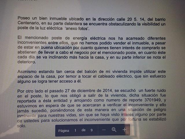 """Postes de Electricaribe: """"trampolín"""" para los ladrones"""