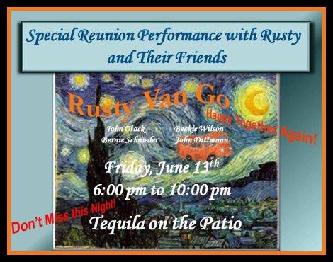 Rusty Van Go 6-13-14