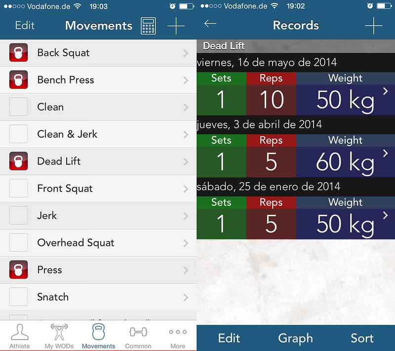 foto de myWOD aplicación para CrossFit