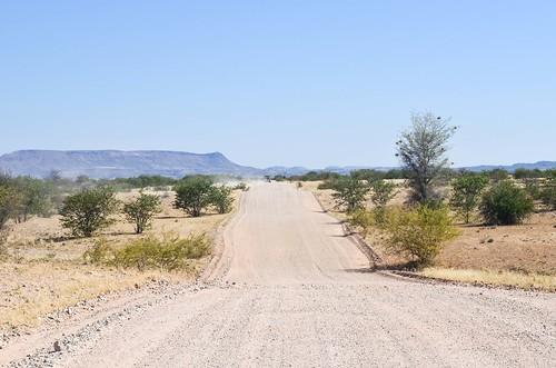La route de Torra Bay