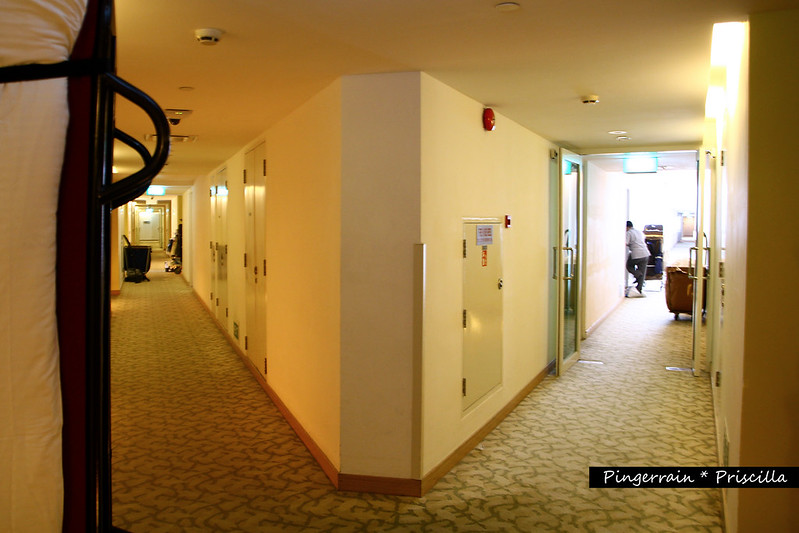 Long wide corridors