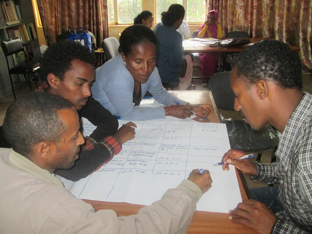 Knowledge center use and management training