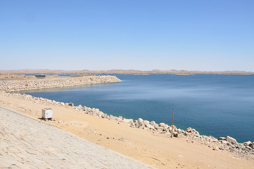 High Aswan Dam (built to control the Nile floods, store water and produce 2,1 GW of electricity)