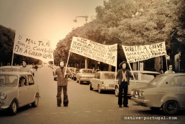 2 - 25 апреля 1974 года - революция гвоздик в Португалии - Каштелу Бранку