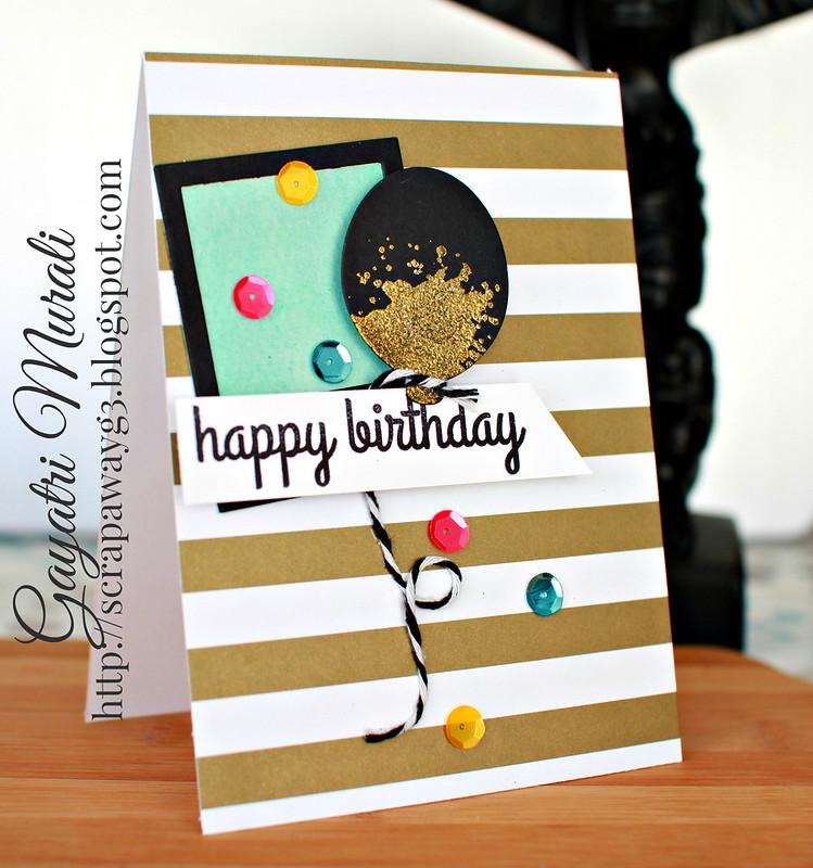 Happy Birthday card 2