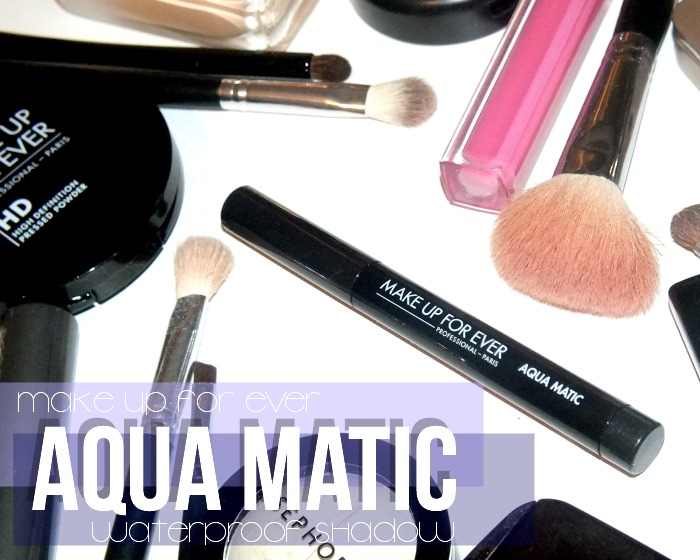 make up for ever aqua matic waterproof eyeshadow- Diamond Black D-10(8)