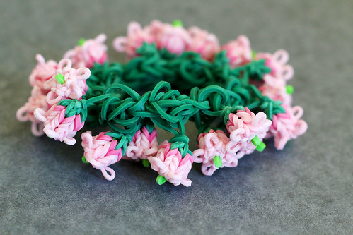 Pink-Lily-of-the-Valeey-Bracelet