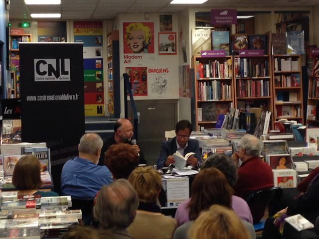 Andrei Kourkov à la librairie Le Divan (Gallimard)