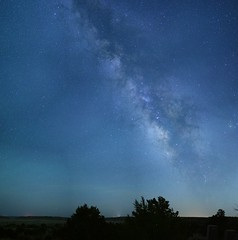 Milkyway pano taken with Sigma 50mm F1.4 DG HSM
