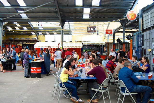 Street Feast London Dalston Yard 2