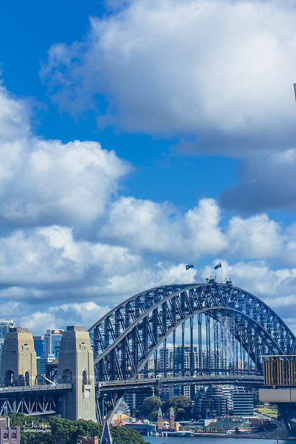 Sydney Harbour Bridge, room with a view
