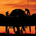 Orange B-2 with Workers no border.jpg by Whiteman AFB