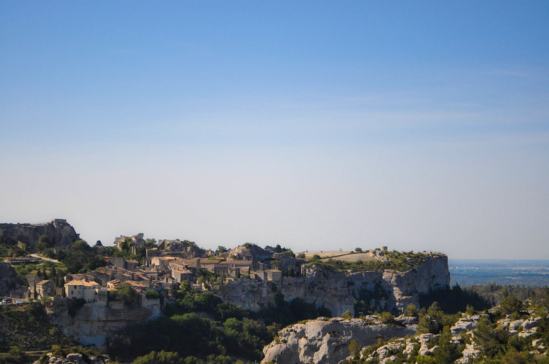 hill top village of les baux