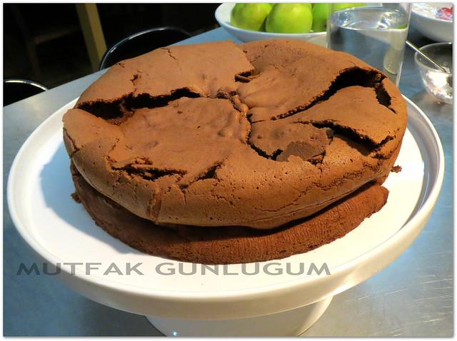 Unsuz Cikolatali Kek