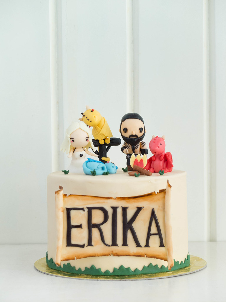 TRP Cake Studio  Character Cakes  A Love in the Time of Dragons
