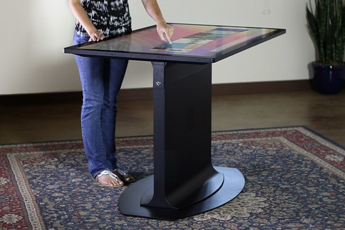 "3M 55"" Multitouch Table Prototype"