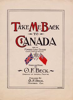 Take Me Back to Canada / Ramenez-moi au Canada