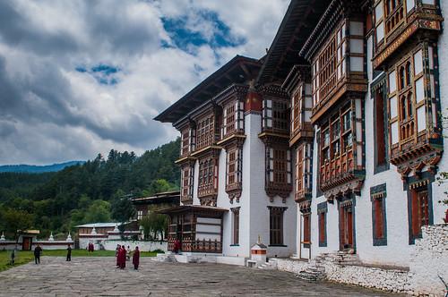 Kurjey Lakhang at Jakar