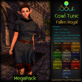 2014 Cowl Tunic FR - Female - MegaPack