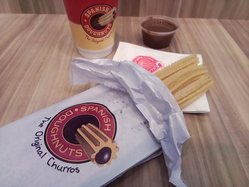 Original Hot Churros 3 pack and Hot Chocolate