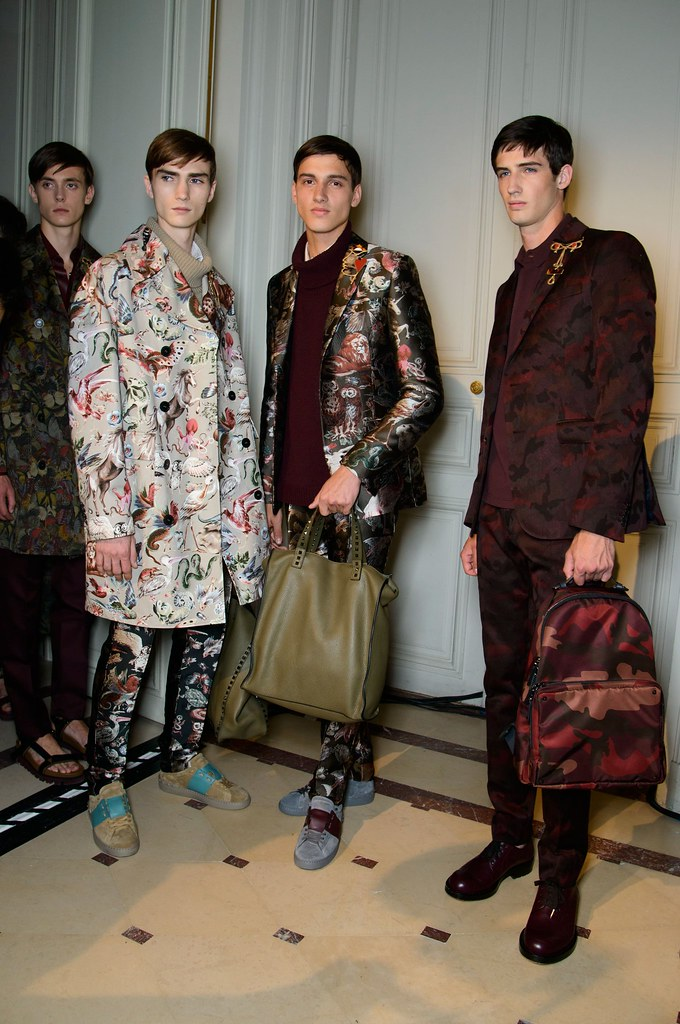 SS15 Paris Valentino477_Gustaaf Wassink, Gryphon O'Shea, Luca Stascheit, Ian Sharp(fashionising.com)