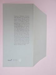 Ortografia della neve, di Francesco Balsamo. incertieditori 2010. Progetto grafico di officina delle immagini. Risvolto della quarta di copertina, q. di cop. (part.), 1