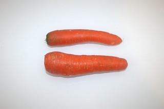 03 - Zutat Möhren / Ingredient carrots