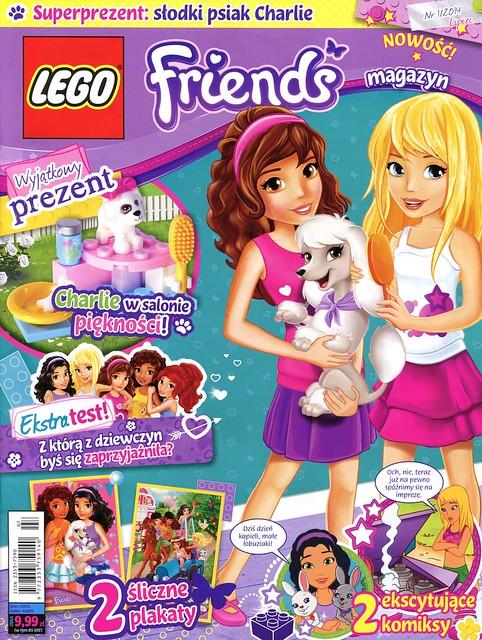 LEGO Friends Magazyn 2014-01-01