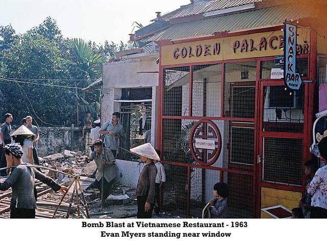Bomb Blast at Vietnamese Restaurant - 1963