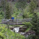 Emily on a bridge, Beaver Pond Trail