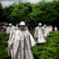 Korea war memorial. My Grandfather died in Korea. Glad I got to go and see it. #WashingtonDC
