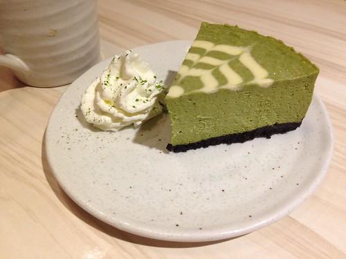 宇治抹茶重乳酪蛋糕, Machikaka, 台北