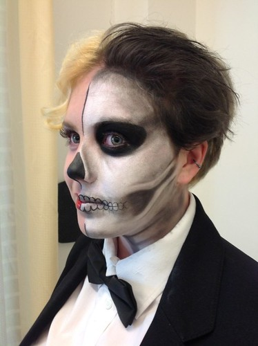 Thriller! for Bridgwater College beauty student