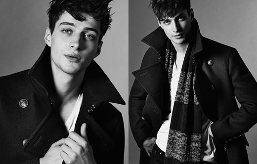 Burberry Black Label FW14_003Matthew Bell