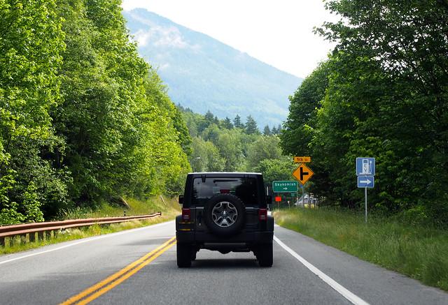 Stevens pass, Lake Chelan, Washington roadtrip 3