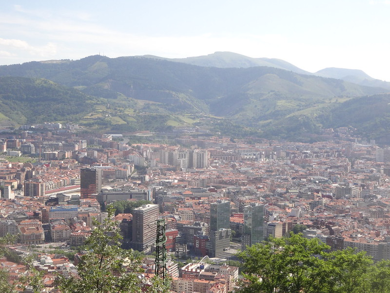 View over Bilbao