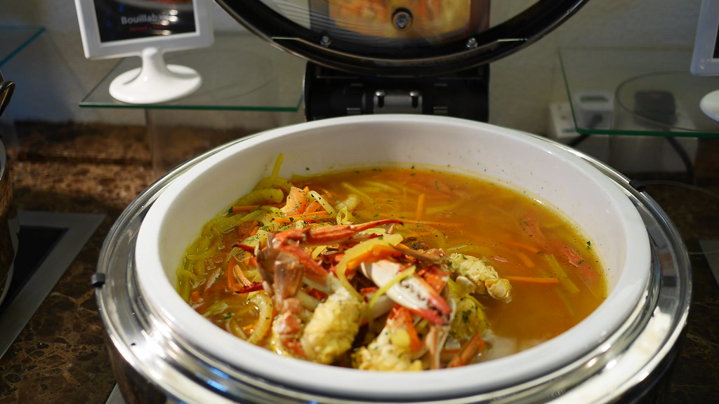 Crab Bouillabaisse with fennel and pernod