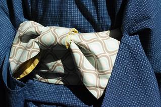 Yoko's handmade Yukata & Obi (JPEG)