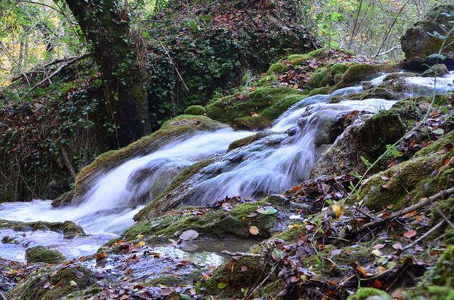 La Toberíako ur-jauziak. Cascadas de la Tobería.