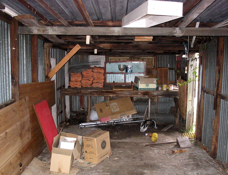 My shed, August 2004